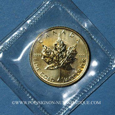 Coins Canada. Elisabeth II (1952- ). 10 dollars 1993. (PTL 999/1000. 7,785 g)