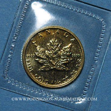 Coins Canada. Elisabeth II (1952- ). 5 dollars 1987. (PTL 999,9/1000. 3,12 g)