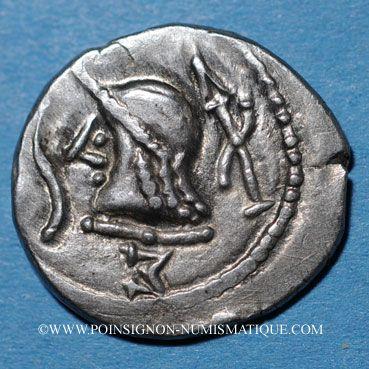 Coins Arabie Heureuse. Les Sabéens (2e siècle après J-C). Denier