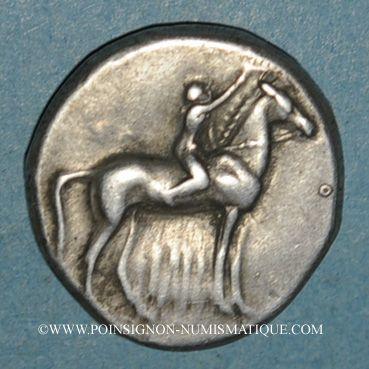 Coins Calabre. Tarente. Didrachme, vers 302-230 av. J-C