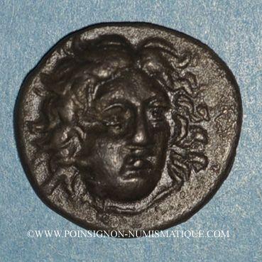 Coins Iles de Carie. Rhodes. Eukrates, magistrat. Drachme, vers 304-189 av. J-C