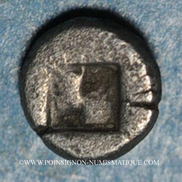 Coins Lesbos. Atelier incertain. 1/36 statère. Vers 550-400 av. J-C