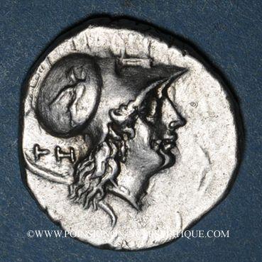 Coins Lucanie. Héraclée (vers 276-250 av. J-C). Didrachme