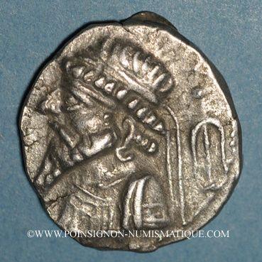 Coins Royaume d'Elymaïde. Kamnaskires V (v. 53-32 av. J-C). Tétradrachme, Séleucie