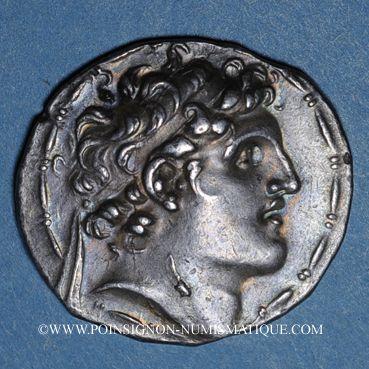 Coins Royaume de Syrie. Alexandre I Balas (152-145 av. J-C). Tétradrachme. Antioche sur l'Oronte, an 164