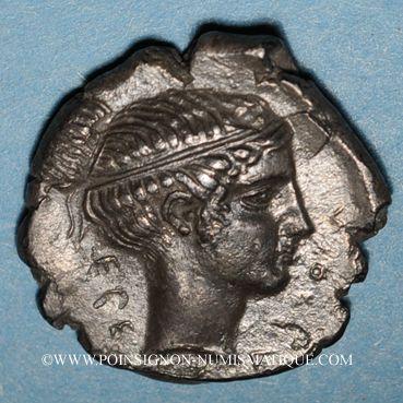 Coins Sicile. Ségeste (412-400 av. J-C.). Didrachme