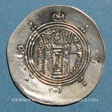 Coins Tabaristan. Gouverneurs Abbassides. Said ben Dalaj (776-778). 1/2 drachme PYE 125