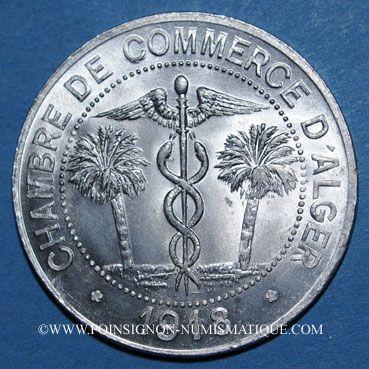 Coins old french colonies alg rie chambre de commerce d for Chambre de commerce algerienne