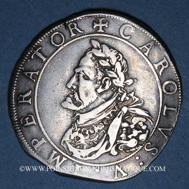 Coins Franche Comté. Cité de Besançon. Daldre 1641