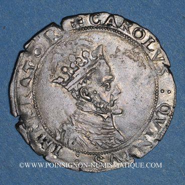 Coins Franche Comté. Cité de Besançon. Gros 1578. Unique et inédit !