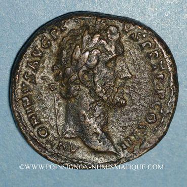 Coins Antonin le Pieux (138-161). Sesterce. Rome, 143-144. R/: Victoire