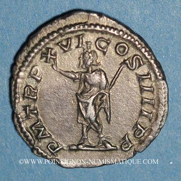 Coins Caracalla (198-217). Denier. Rome, 213. R/: Sérapis