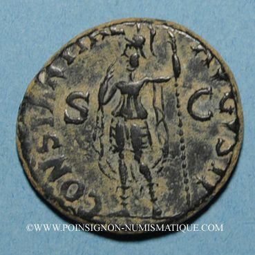 Coins Claude (41-54). As. Rome, 41-42. R/: la Constance