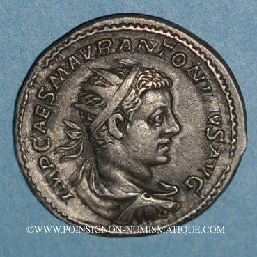 Coins Elagabale (218-222). Antoninien. Rome, 218-219. R/: Mars