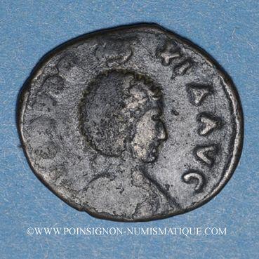 Coins Eudoxia, épouse d'Arcadius. Centenionalis. Constantinople, 1ère officine, 402-404. R/: la Victoire