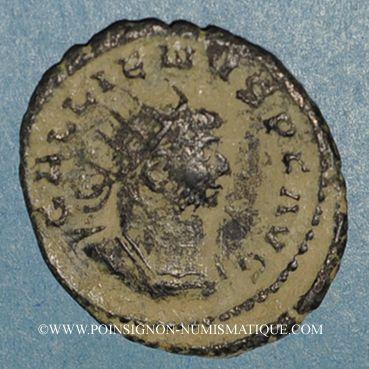 Coins Gallien (253-268). Antoninien. Antioche, 264. R/: l'Equité