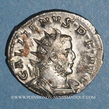 Coins Gallien (253-268). Antoninien. Cologne, 257-258. R/: Victoire