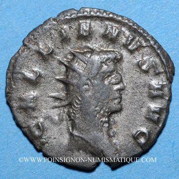 Coins Gallien (253-268). Antoninien. Milan, 262-263. R/: la Joie