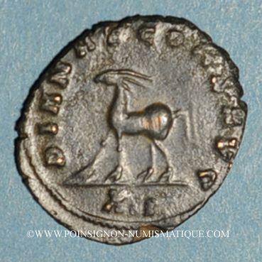 Coins Gallien (253-268). Antoninien. Rome, 12e officine, 267-268. R/: antilope