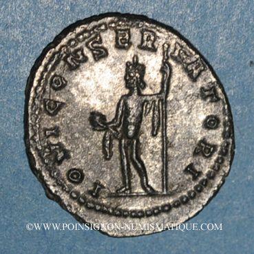 Coins Gallien (253-268). Antoninien. Rome, 253-255. R/: Jupiter
