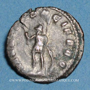 Coins Gallien (253-268). Antoninien. Rome, 264-266. R/:  Mars