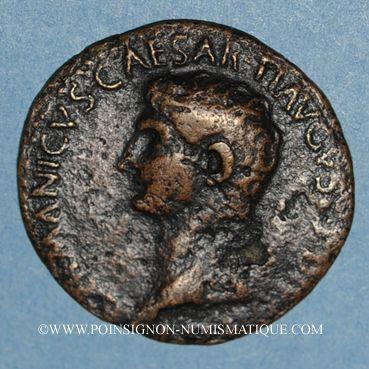 Coins Germanicus († 19). As frappé sous Caligula. Rome, 37-38