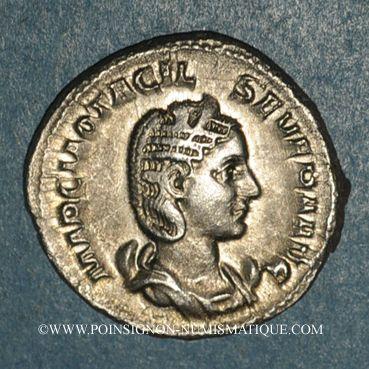 Coins Otacilie, épouse de Philippe I. Antoninien. Rome, 244-245. R/: la Pudeur