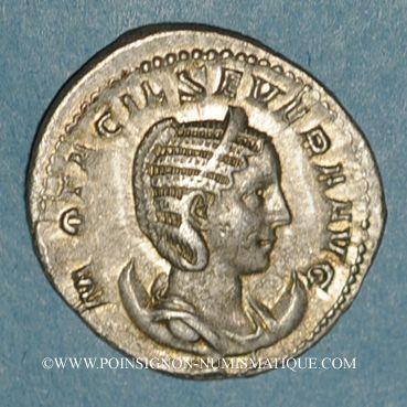 Coins Otacilie, épouse de Philippe I. Antoninien. Rome, 245-247. R/: la Concorde