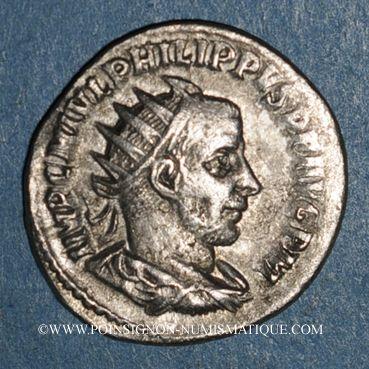 Coins Philippe I (244-249). Antoninien. Antioche, 244-245. R/: l'Espérance