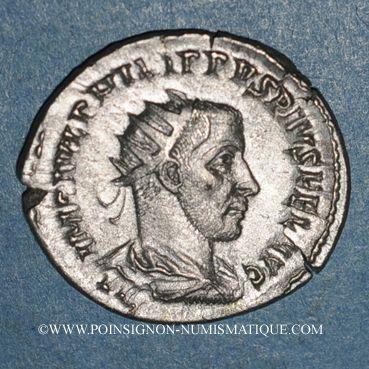 Coins Philippe I (244-249). Antoninien. Antioche (?) 244. R/: la Valeur
