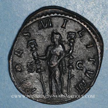 Coins Philippe I (244-249). Sesterce. Rome, 244-245. R/: la Fidélité