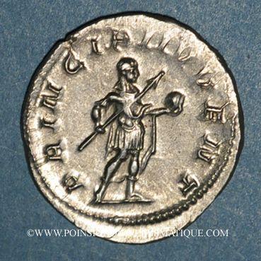 Coins Philippe II, césar sous Philippe I (244-247). Antoninien. Rome, 245-246. R/: Philippe
