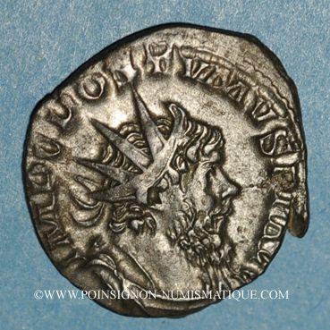 Coins Postume (260-269). Antoninien. Cologne, 267-268. R/: Jupiter