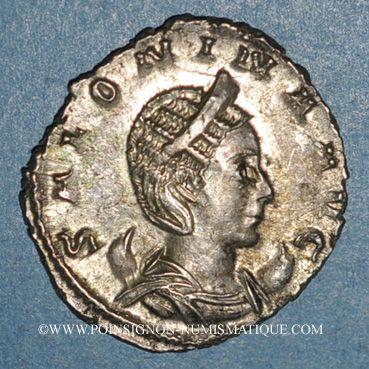 Coins Salonine, épouse de Gallien. Antoninien. Cologne, 257-259. R/: Vénus