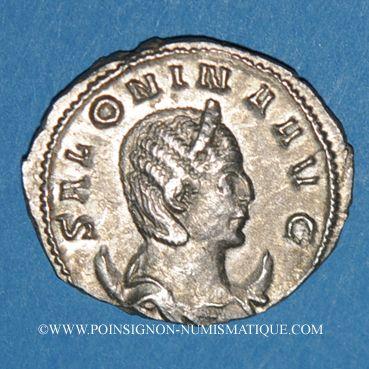 Coins Salonine, épouse de Gallien. Antoninien. Rome 260-262. R/: Vénus
