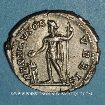 Coins Septime Sévère (193-211). Denier. Rome, 201. R/: Septime Sévère