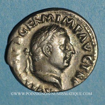 Coins Vitellius (69). Denier. Rome, 69. R/: la Concorde