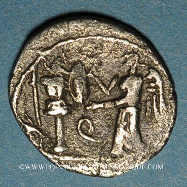 Coins République Romaine. C Egnatuleius C. f. (97 av. J-C). Quinaire