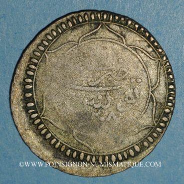 Coins Tunisie. Ottomans. Selim III (1203-1222H). 8 kharub  1208H. Tunis