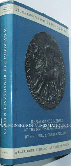 Livres d'occasion Hill / Pollard, Renaissance Medals from the Samuel H. Kress Collection… National Gallery of Art 1967