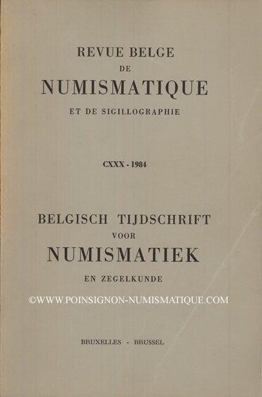 Livres d'occasion Revue Belge de Numismatique. 1984