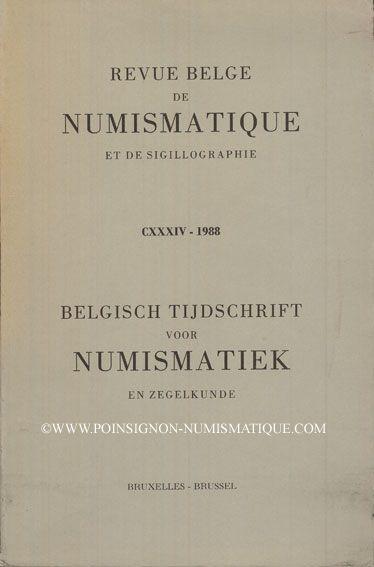 Livres d'occasion Revue Belge de Numismatique. 1988
