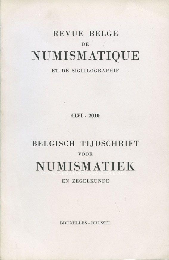Livres d'occasion Revue Belge de Numismatique. 2010