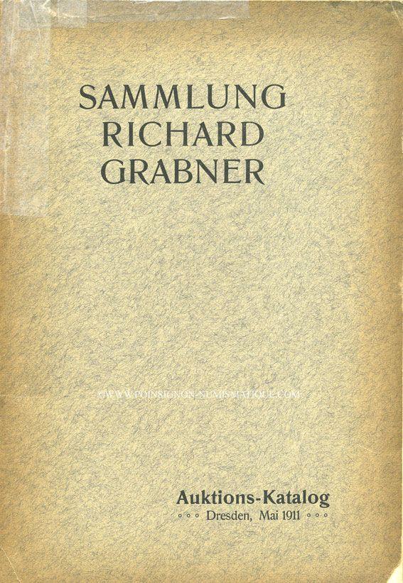 Livres d'occasion Thieme C. G., Auktion-Katalog. 20.05.1911, Sammlung Richard Grabner