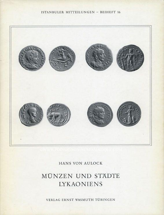 Livres Doccasion Livres De Numismatique Von Aulock 5 Volumes