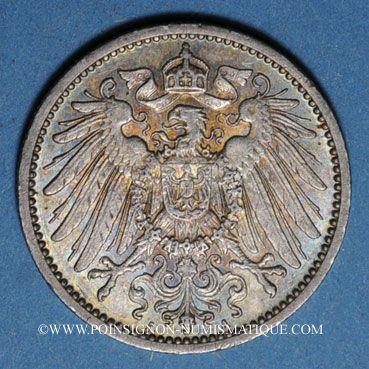 Monnaies Allemagne. 1 mark 1910A