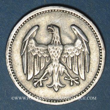 Monnaies Allemagne. République de Weimar. 1 mark 1925A