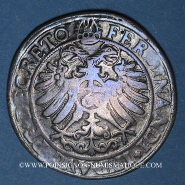 Monnaies Alsace. Colmar. Guldentaler 1571. R ! R ! R !