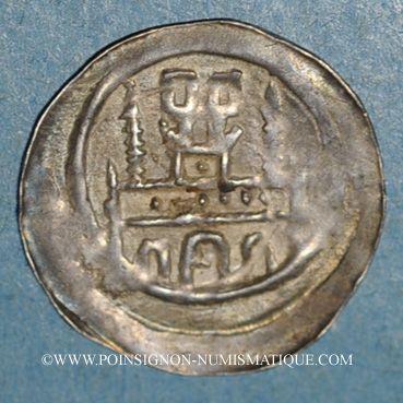 Monnaies Alsace. Haguenau. Denier (pfennig), vers 1220-1250