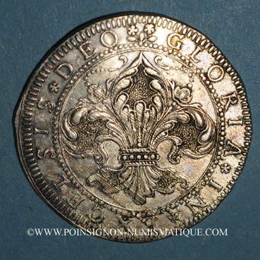 Monnaies Alsace. Strasbourg. Municipalité. Guldentater (= 60 kreuzers), à partir de 1668